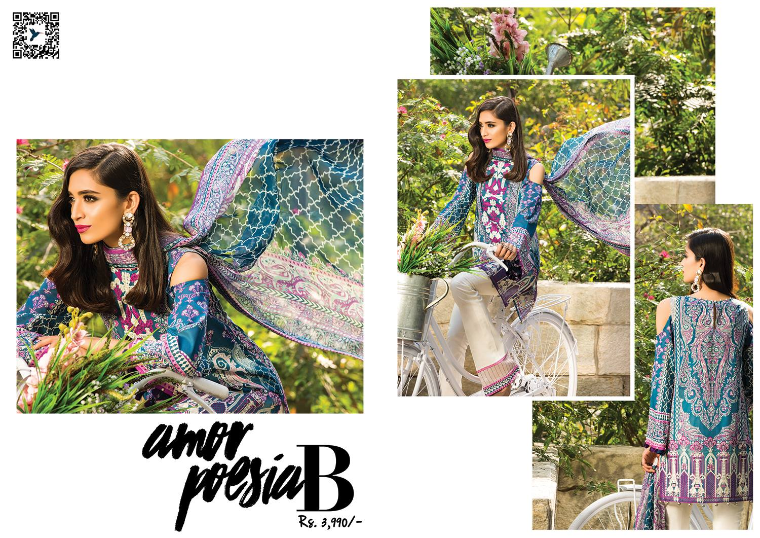 Sapphire Lawn 2017 Summer Collection Vol 1