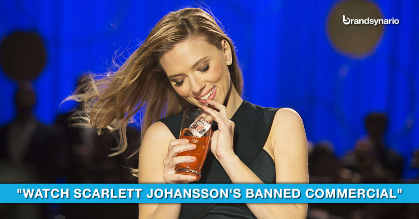 Scarlet Johansson Feels Sorry for Coke and Pepsi in Sodastream ad