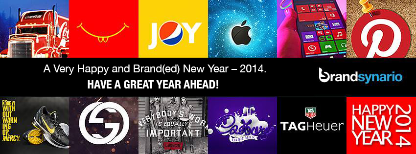 See How Your Favorite Brands Wished You New Year 2014