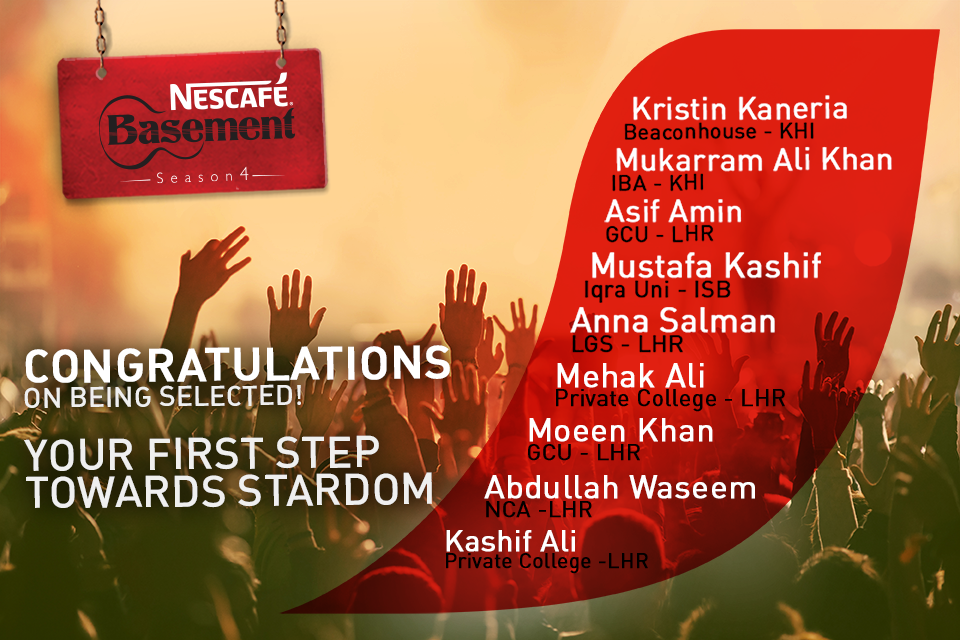 Selected Musicians for NCB4