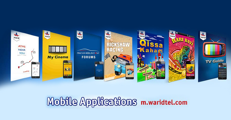 Seven Superb Social Apps By Warid Telecom