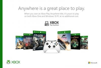 Several highly anticipated titles support the Xbox Play Anywhere initiative