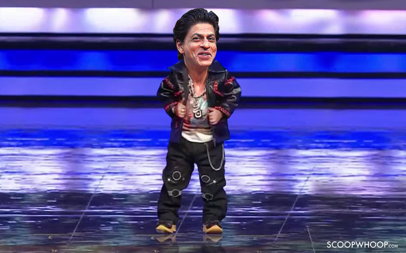 Shahrukh Khan to play dwarf