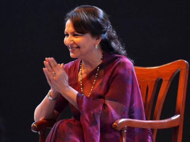Sharmila Tagore at LLF
