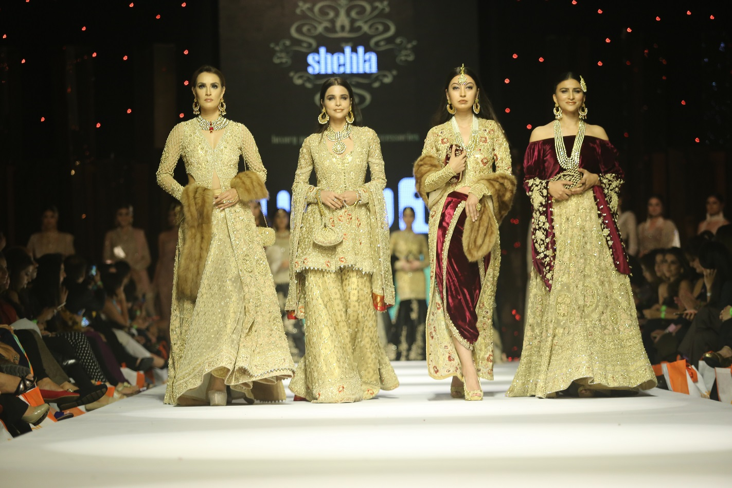 Shehla Chatoor - All The Raj collection at FPW15