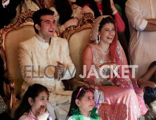 Syra-Yousuf-Shehroz-Sabzwari-Reception -Photos