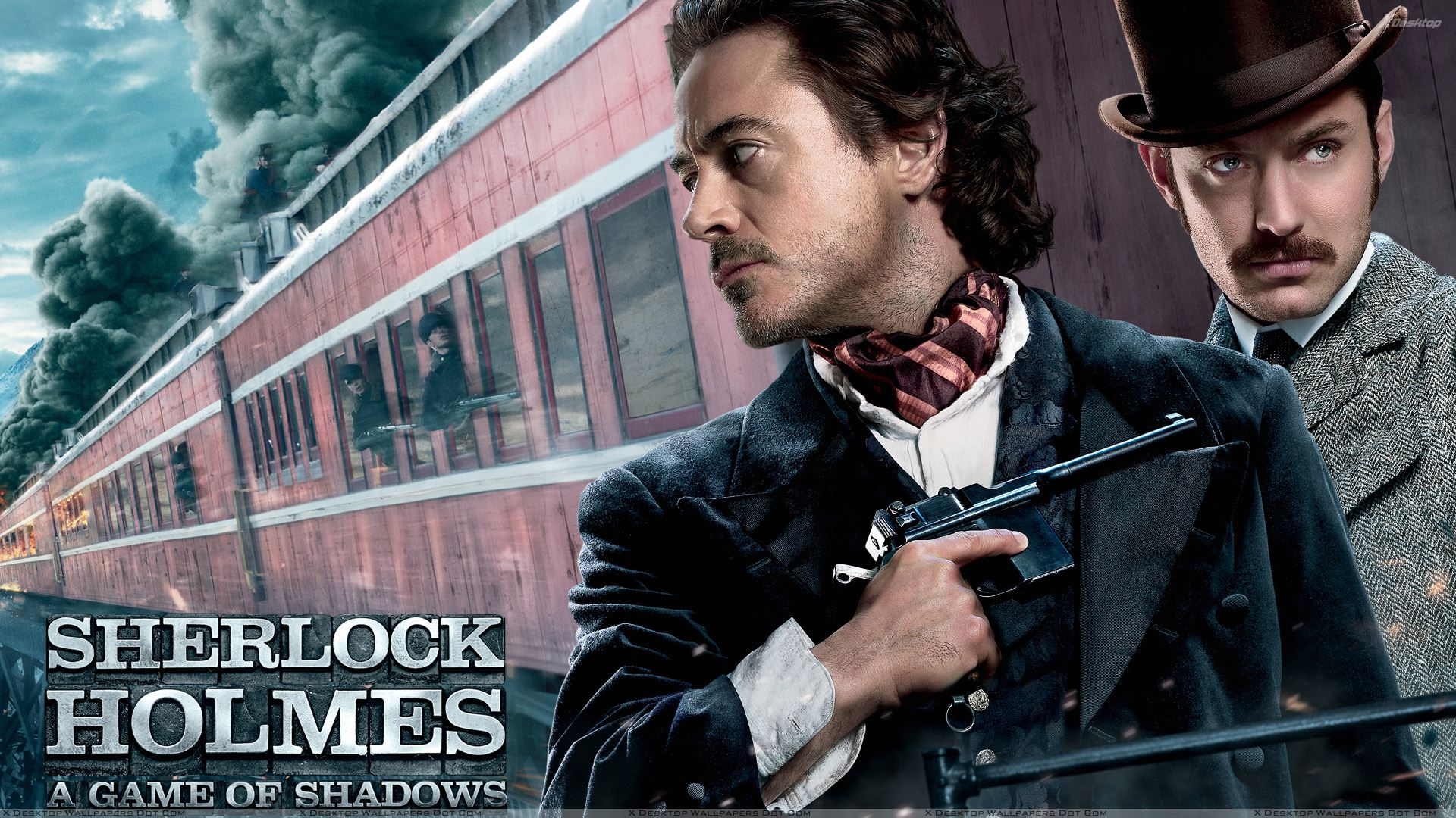 Sherlock Holmes- A Game of Shadows - Outside The Train