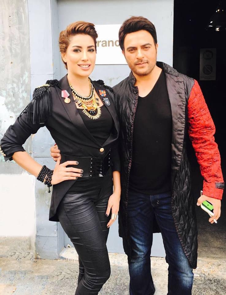 Shira Uppal and Mehwaish Hayat for Coke Studio season 9 2
