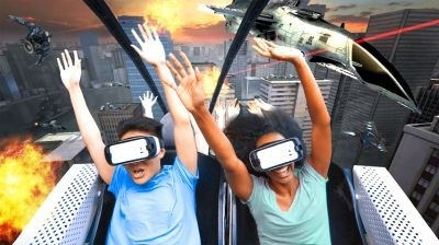 Six Flags Entertainment and Samsung Electronics announce the debut of North America's first Virtual Reality Roller Coasters.