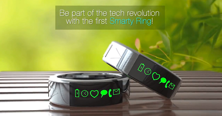 Smarty Ring Get Your Facebook Notification on Your Finger