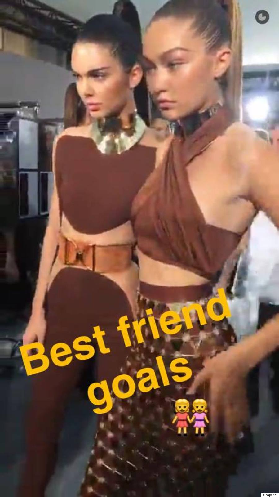 Snapchat blessed fashionistas