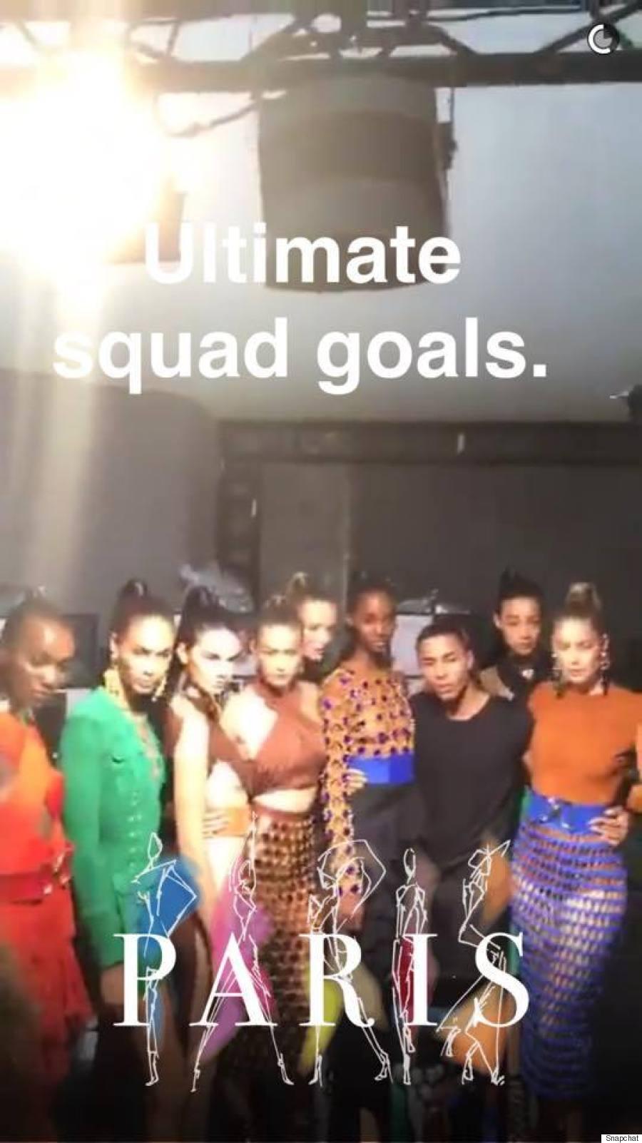 Snapchat fashion