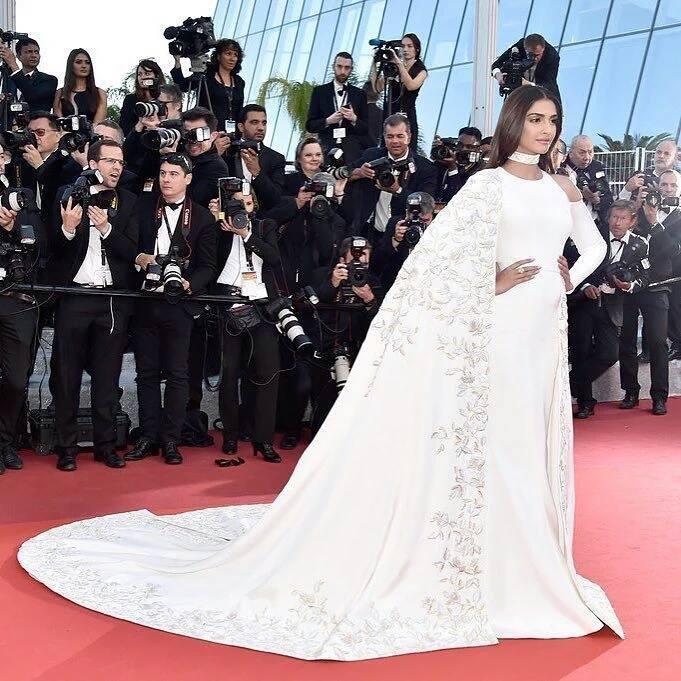 Sonam Kapoor at Cannes film festival
