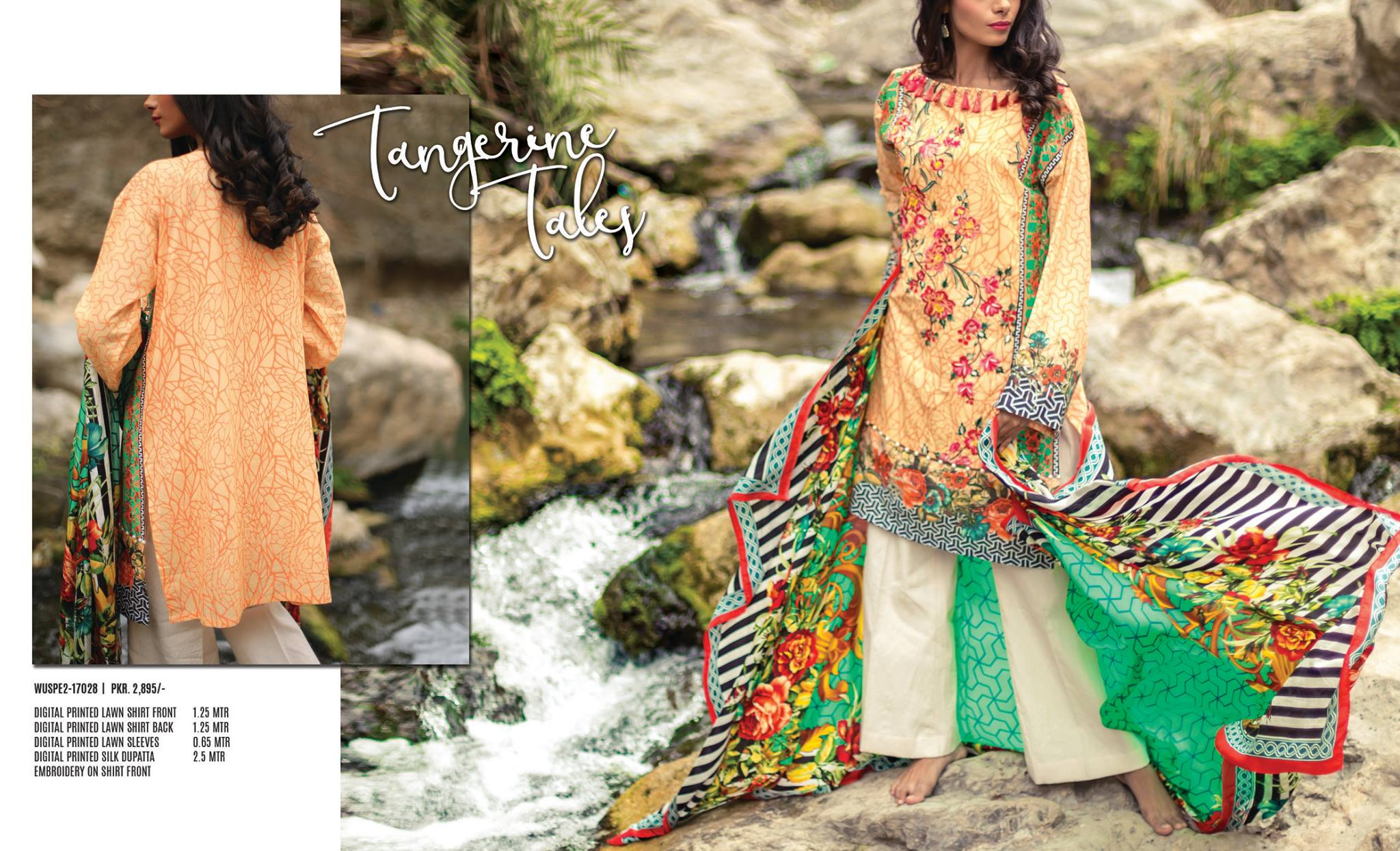 Kapray Spring/Summer 2017 Lawn Collection
