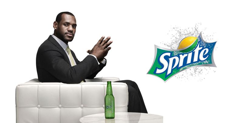 LeBron James grabó un nuevo spot con Sprite