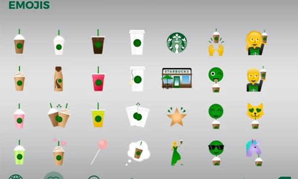 Starbucks-emoji-app