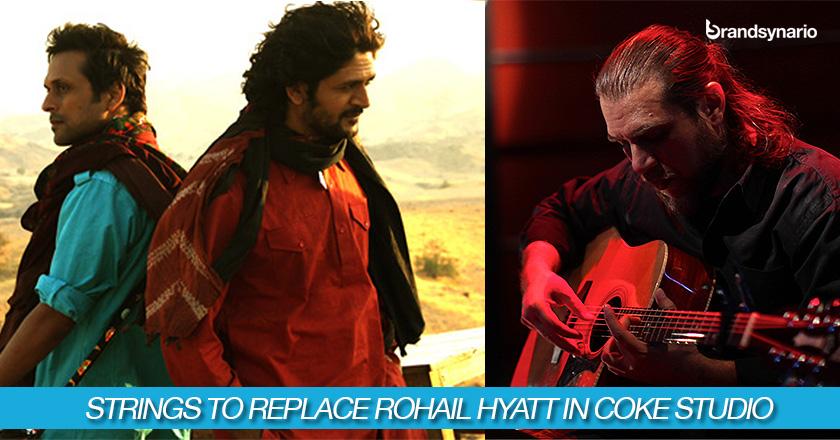 Strings to Replace Rohail Hyatt in Coke Studio