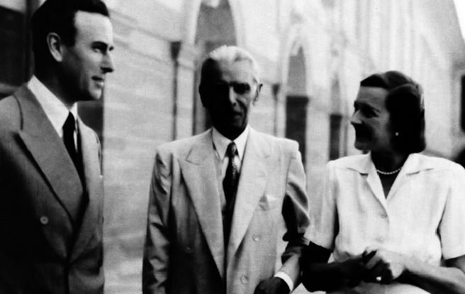 Subas Chandra Bhos with Mr Jinnah