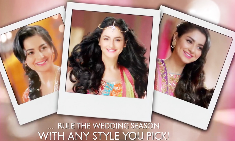Sunsilk S New Tvc Featuring Hania Aamir Will Up Your Wedding Fashion Game Brandsynario