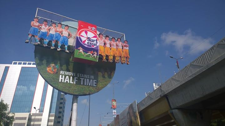 Surf Excels Creative OOH Campaign