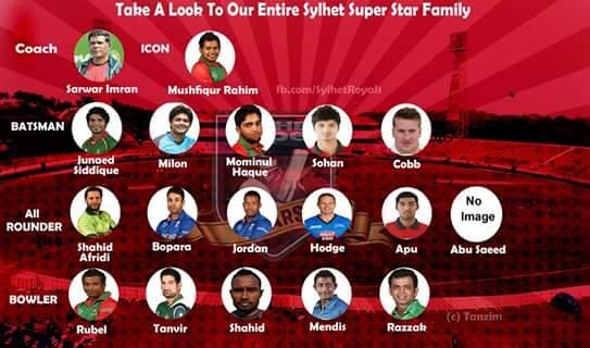 Sylhet Superstars.Brandsynario