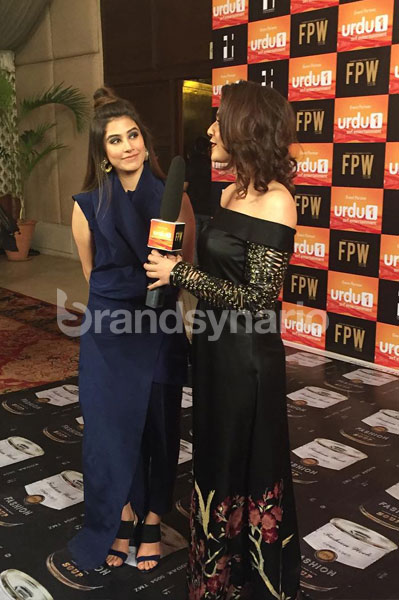 Syra Shehroze at FPW 2015 Day 1
