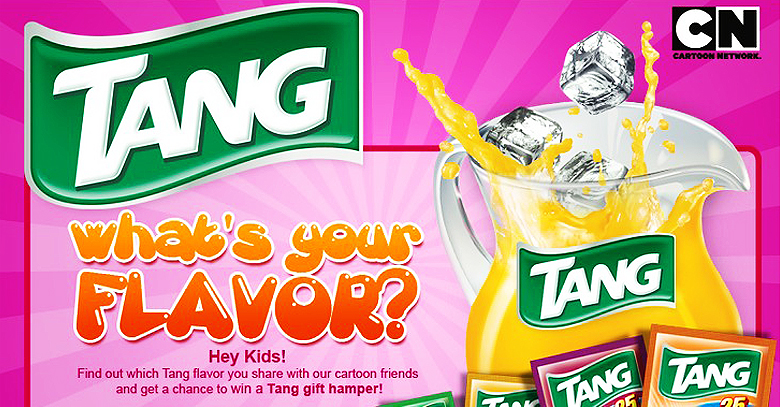 Tang creates Whats your flavor application