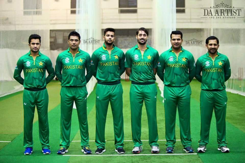 Team in kit
