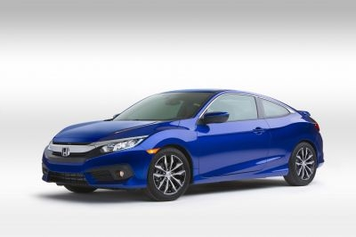The 2016 Honda Civic Coupe