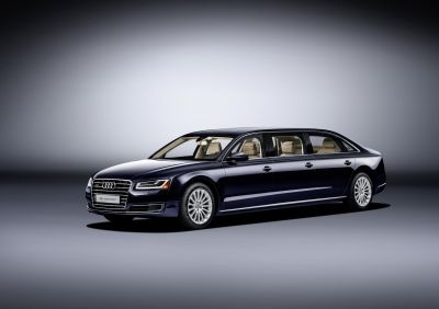 The Audi A8L Extended