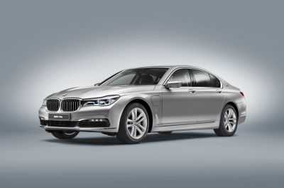 The BMW 740e iPerformance