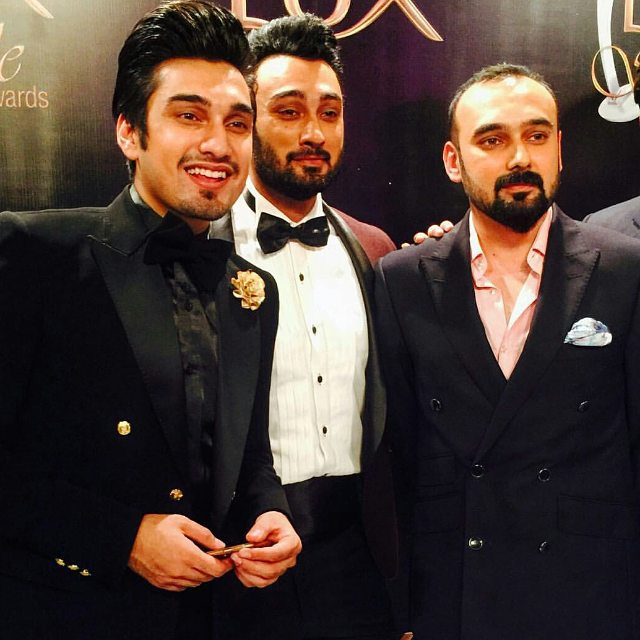Pakistani singer Umair Jaswal with brothers Umair Jaswal and Yasir Jaswal