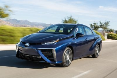 The Toyota Mirai Fuel Cell Sedan took the Green Car of the Year award.