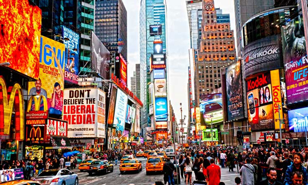 Times Square , Photo : Google images