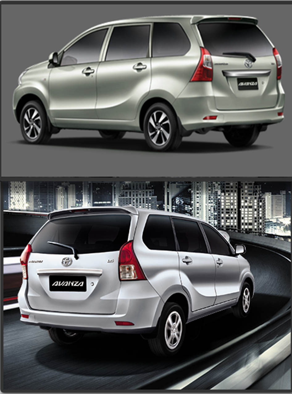 New Toyota Avanza (Pictured Above) Old Toyota Avanza (Pictured Below) PHOTO Courtesy: PakWheels