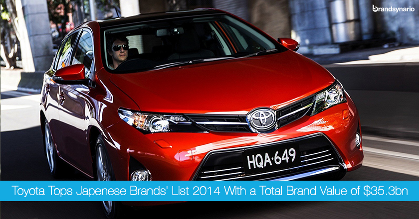 Toyota Becomes Japans Best Brand 2014