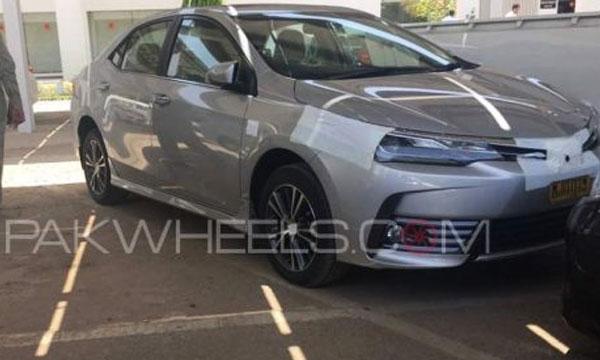 Toyota Corolla Facelift To Launch In Pakistan Brandsynario