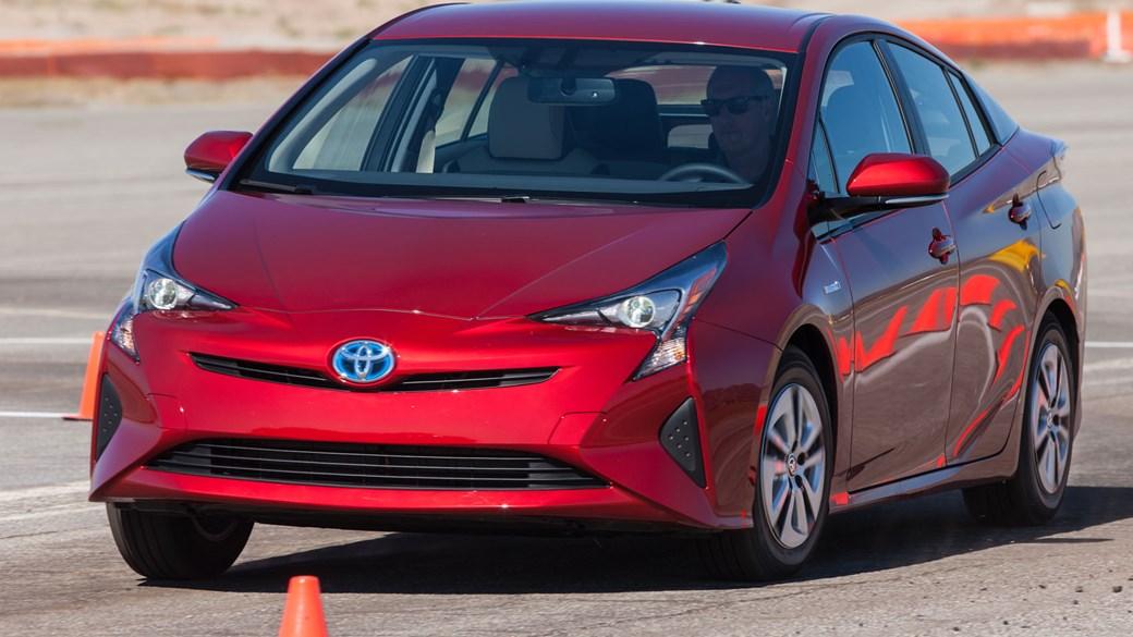 Toyota Prius.Brandsynario
