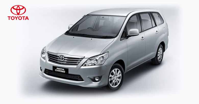 Toyota launches Innova Chrome edition