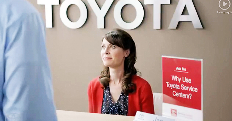 Toyota Re-brands its Parts and Services Department