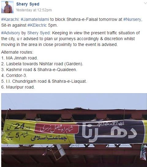 Traffic Jam Karachi