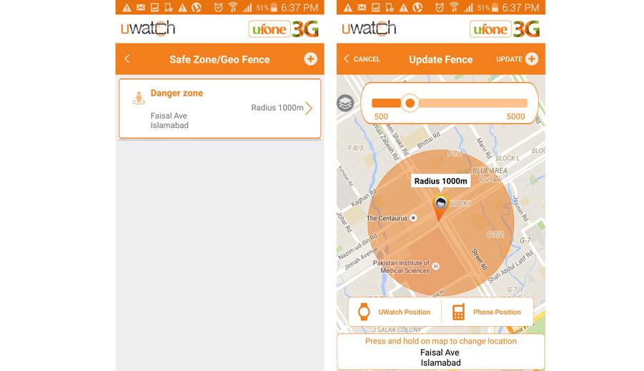 UWatch Define Safe-Danger Zone.Brandsynario
