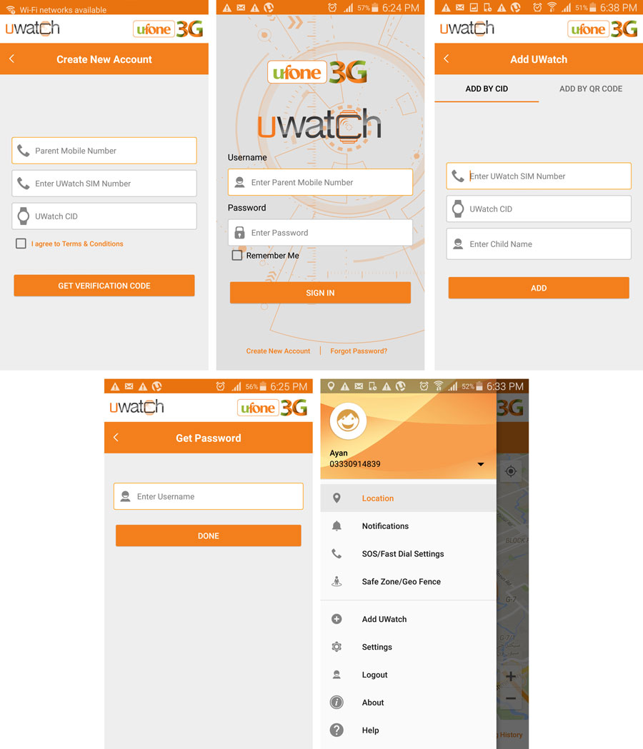 UWatch Registration.Brandsynario