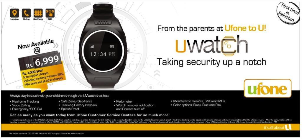 Ufone Uwatch Ad