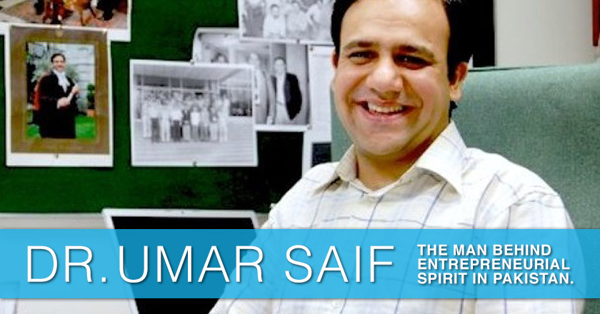 Umer Saif The Technopreneur of Pakistan