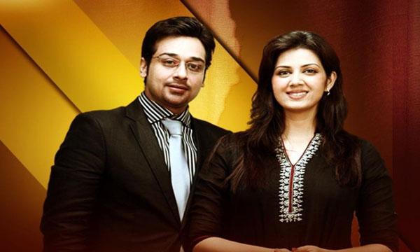 Faisal Qureshi and Sawera nadeem