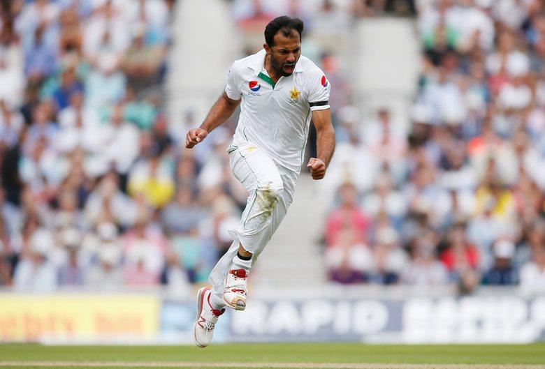 Wahab Riaz Wicket