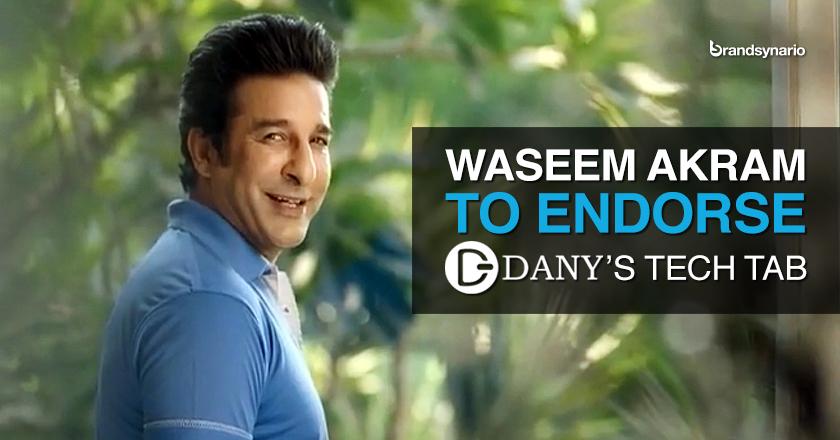 Wasim Akram Endorses Danys Genius Tab