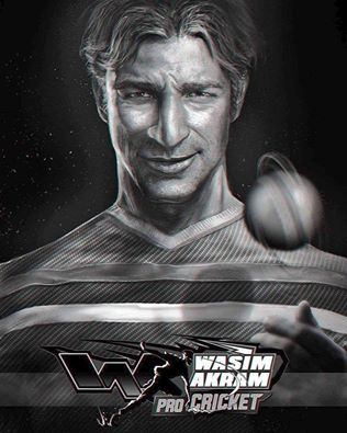 Wasim Akram Pro Cricket game