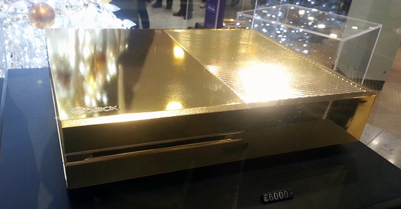 Xbox One Gets a Premium Gold Plated Look
